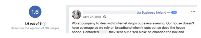 Opinion on one of the major InternetProviders in UK